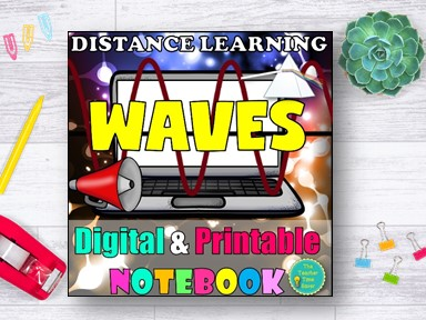 Light and Sound Waves Distance Learning | Physical Science