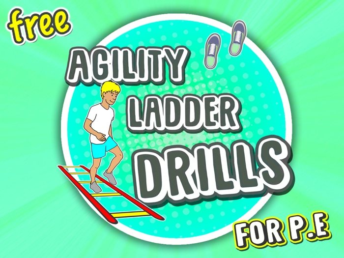 9 Agility Ladder movements for P.E (FREE)