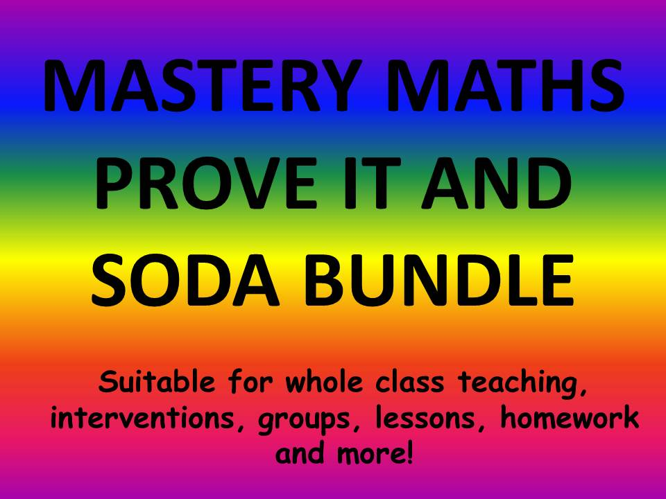 MASTERY MATHS AND LITERACY BUNDLE