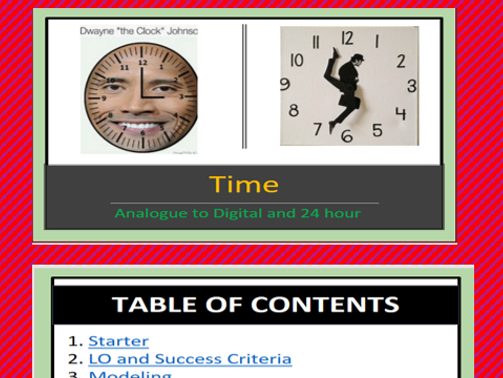 Time Power point Lesson - Rated Outstanding