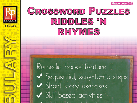 Riddles & Rhymes: Crossword Puzzles