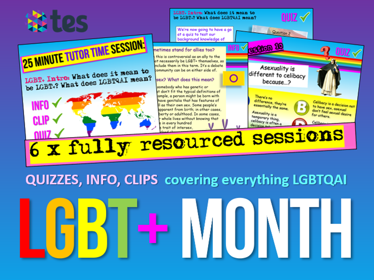 Transgender - LGBT by cre8tivecurriculum | Teaching Resources