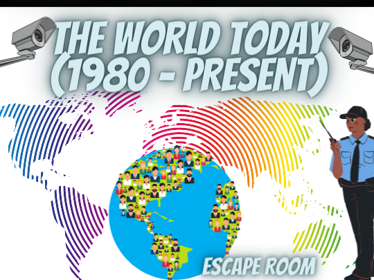 World Today - 1980 to Present Escape Room