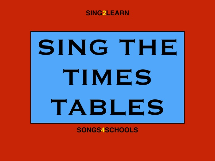 Times Tables song!