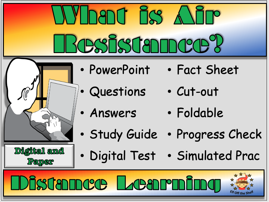 Forces - Air Resistance Explained - Distance Learning and Homeschool for KS3