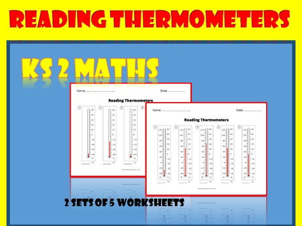 Reading Thermometers - KS2 maths