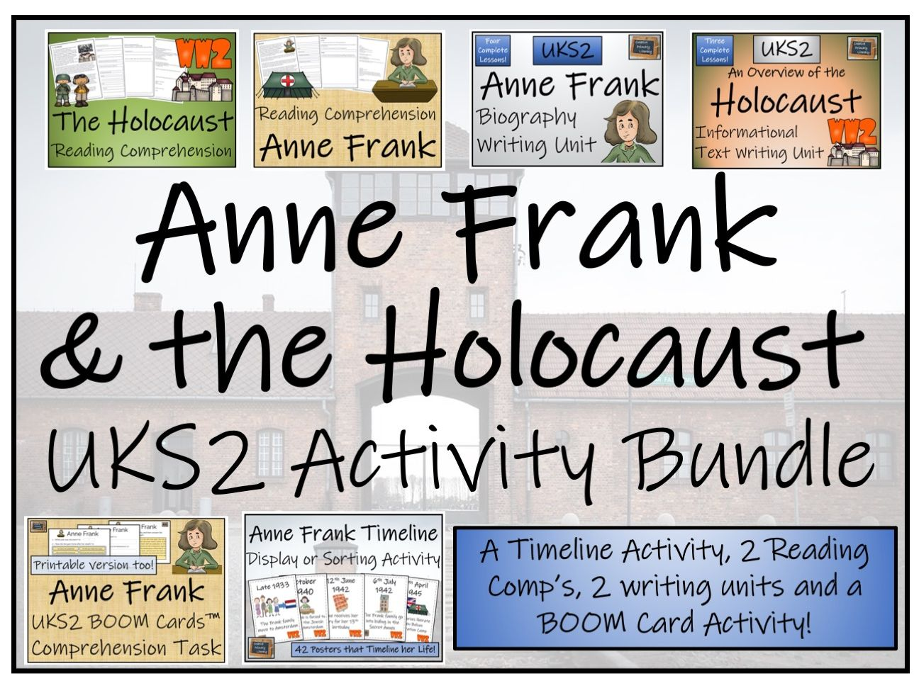 UKS2 The Holocaust & Anne Frank Bundle