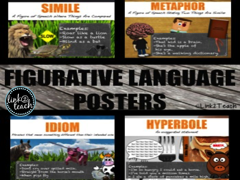 Figurative Language Posters Using Memes
