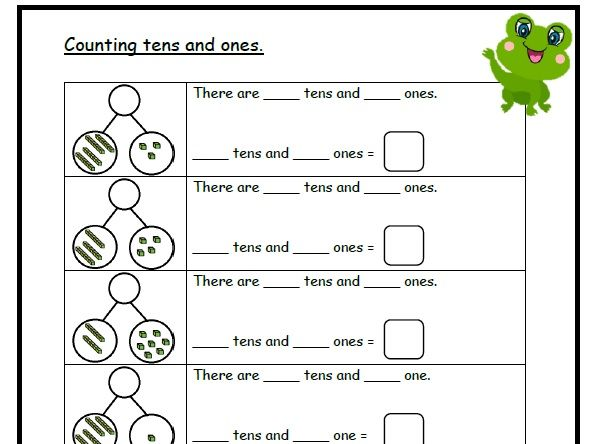 Counting Tens and Ones