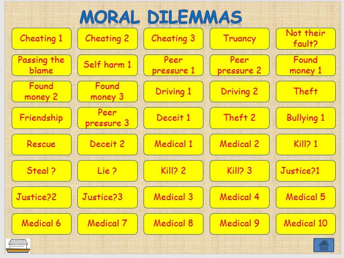 moral dilemmas for high school students