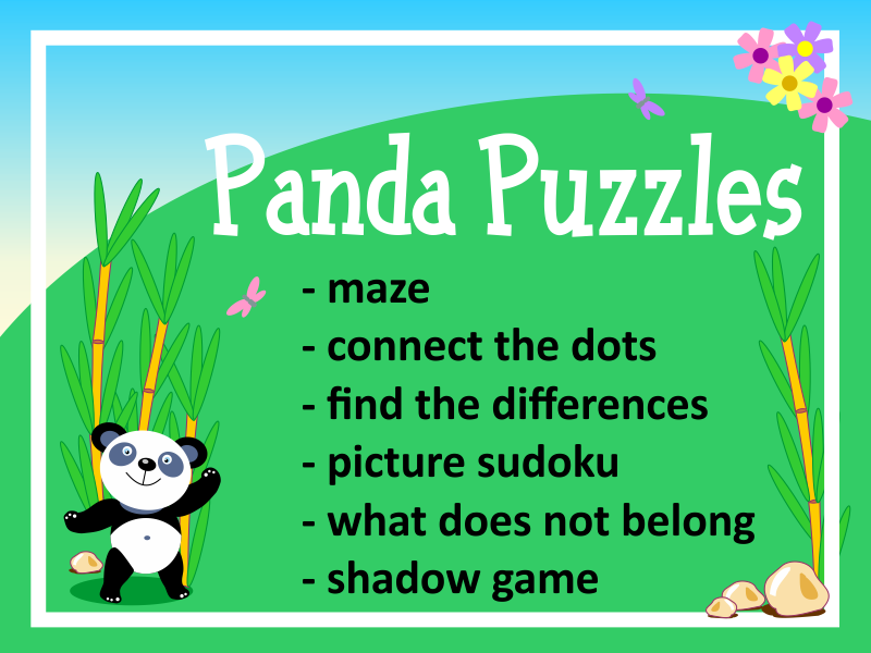 Panda Puzzles