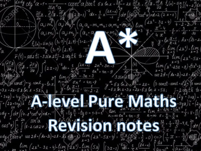 A-level Further Maths (Pure) Revision Notes and Example Questions by