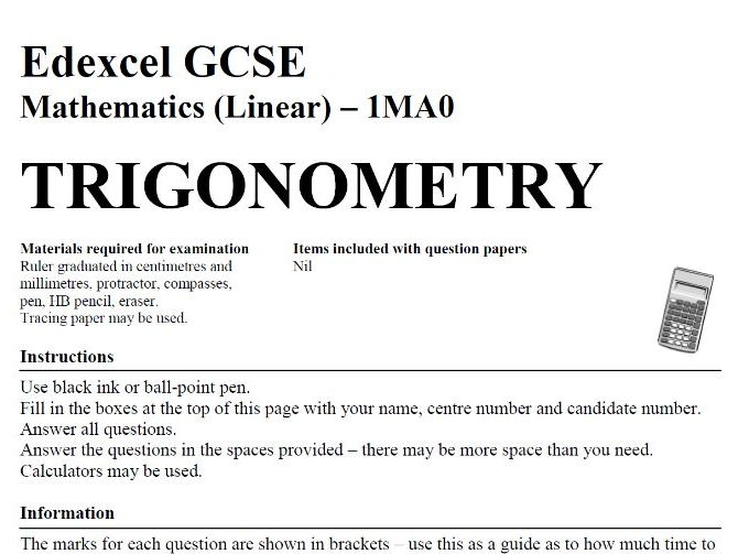 111 GCSE Maths Topic Exam Style Papers with Answers & Worked Solutions