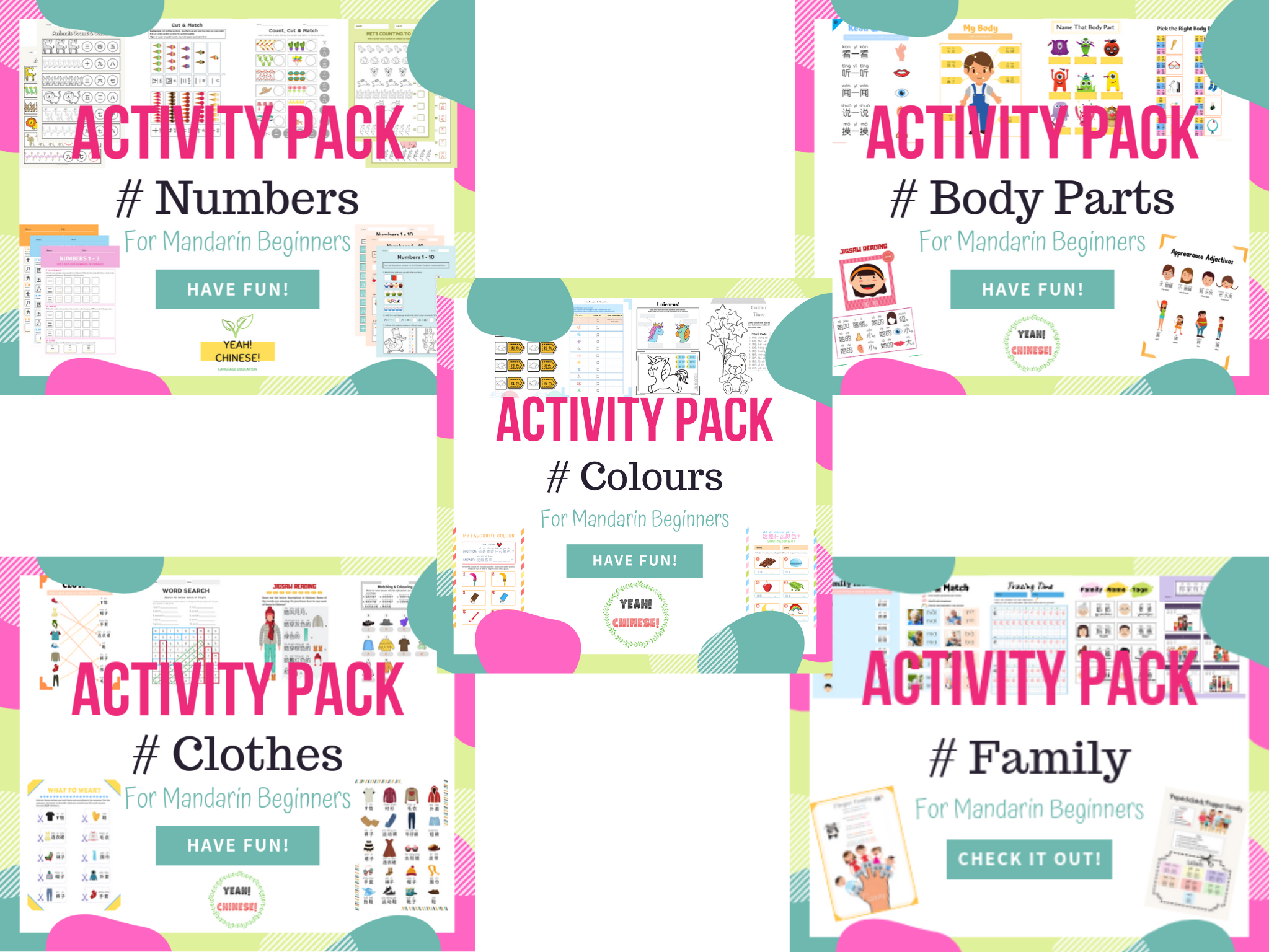 Activity Packs Bundle