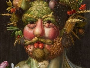 Harvest display and activity: Guiseppe Arcimboldo