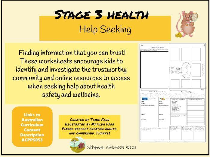 Stage 3 Health Help Seeking