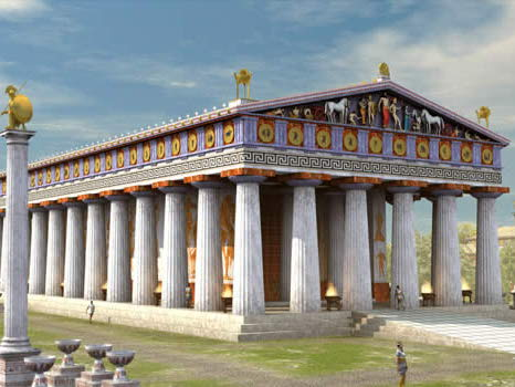 Temple of Zeus at Olympia GCSE Classical Civilisation