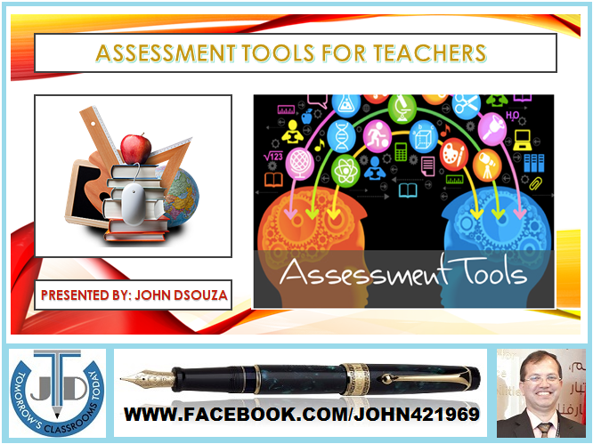 8 ASSESSMENT TOOLS FOR A DIGITAL TEACHER