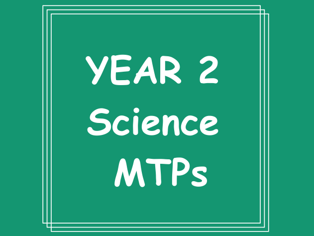Year 2 Science Whole Year Medium Term Plans