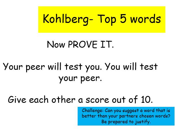 Edexcel Psychology (9-1) GCSE New Spec Unit 2 Lesson 11 - Kohlberg & Morality