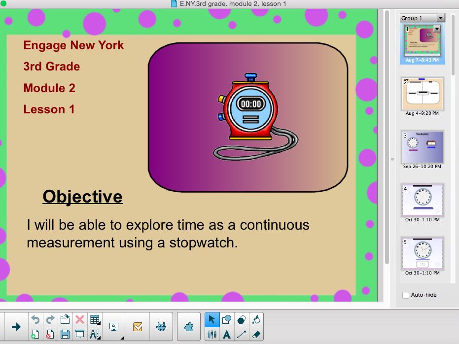Engage New York (Eureka Math) 3rd Grade Module 2 Lesson 1