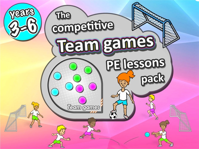 PE Team Games - 21 sport activities for years 3-6