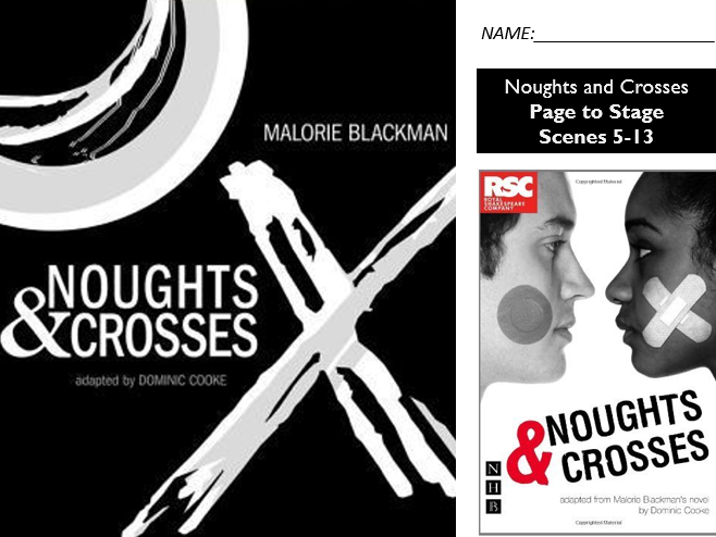 GCSE Drama Home Learning - Noughts and Crosses - AQA Scenes 5-13