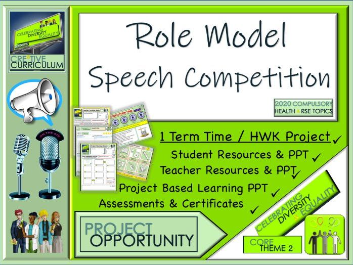 Role models Speech Competition