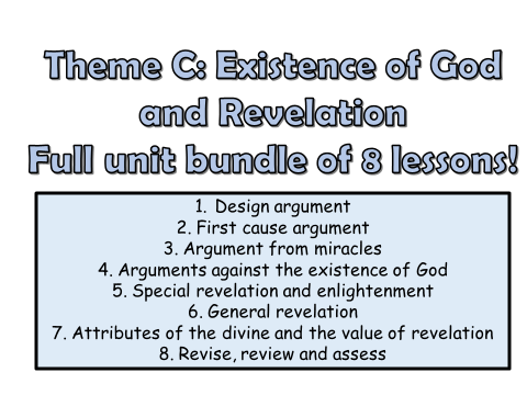 AQA A GCSE Religious Studies Theme C Full Unit!