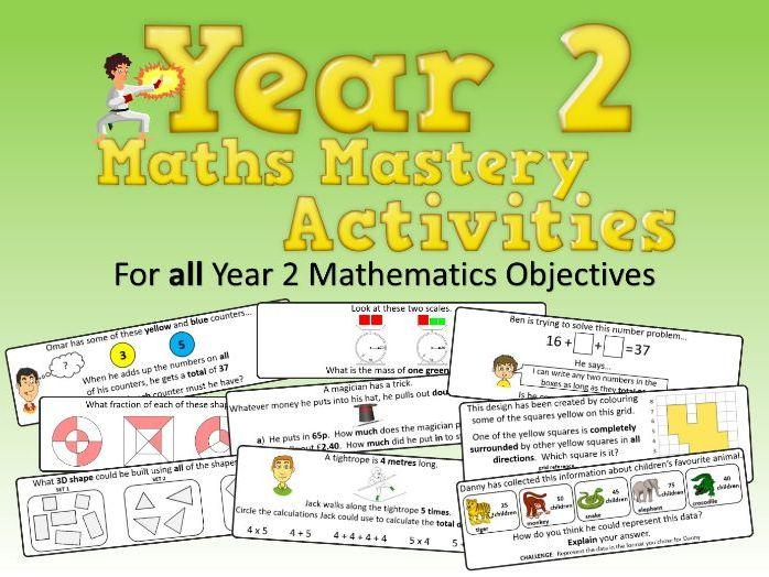 Year 2 Maths Mastery Activities
