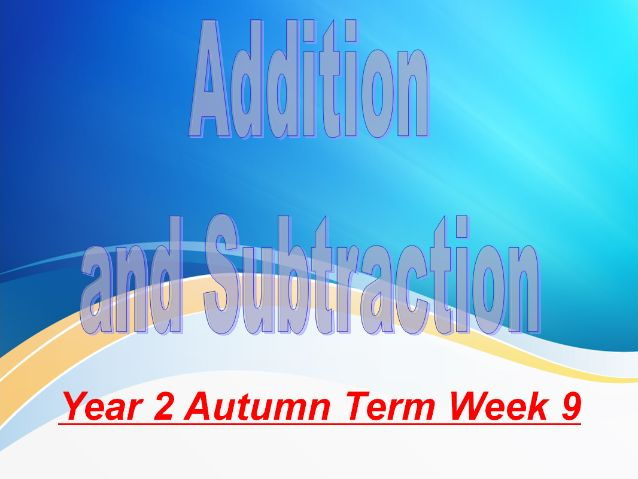 Year 2 Autumn Term Week 9 Addition, Subtraction and Money.