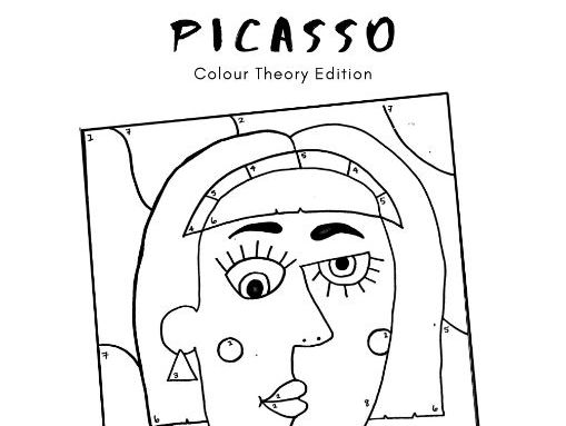 PICASSO Colour By Numbers Activity Sheet