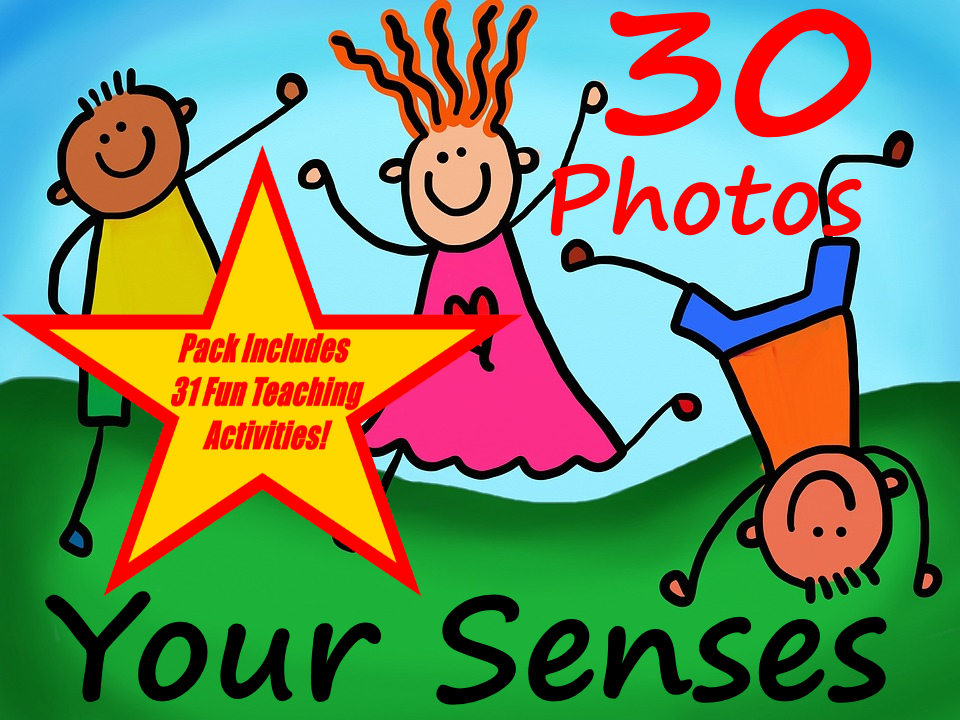 Your Senses. PowerPoint About Your 5 senses + 31 Fun Teaching Activities For These Cards