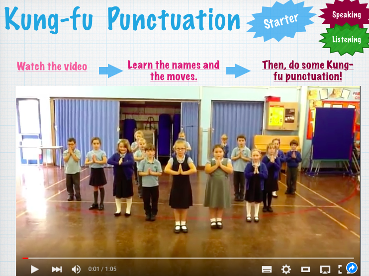 ESOL -Lesson 2- Punctuation