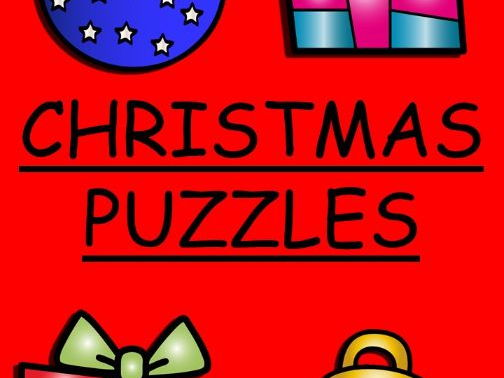 Christmas Puzzles, word searches and crossword