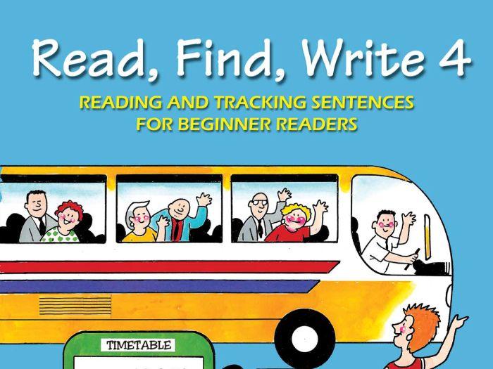 READ, FIND, WRITE BOOK 4