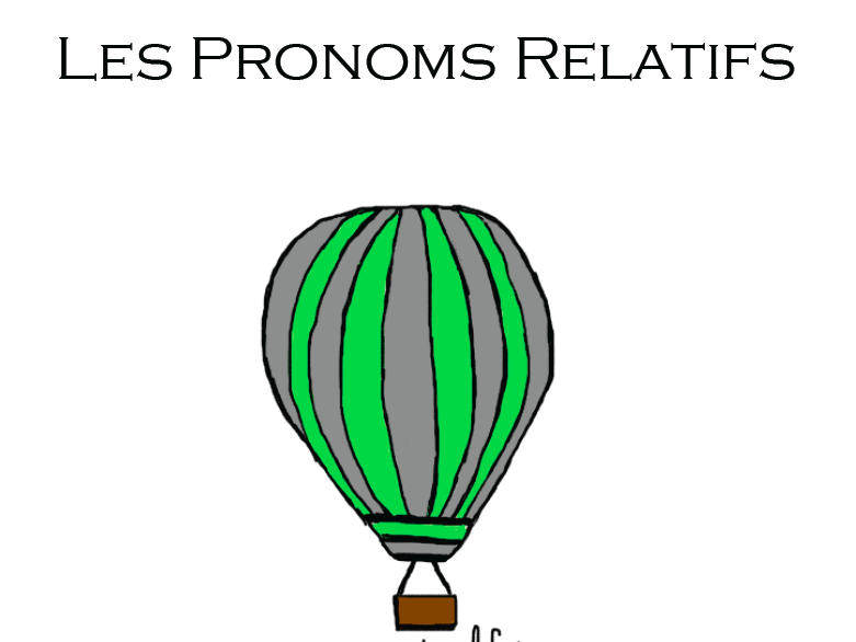 Relative Pronouns - Qui, Que, Où