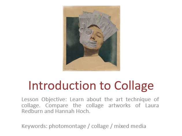 Introduction to Collage Lesson and Homework