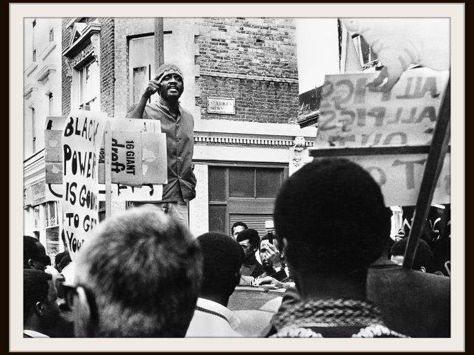 Black History Month display (British)