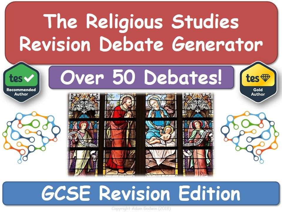 Revision Debate Generator! (GCSE Religious Studies) [Religious Education, RE, RS, Ethics]