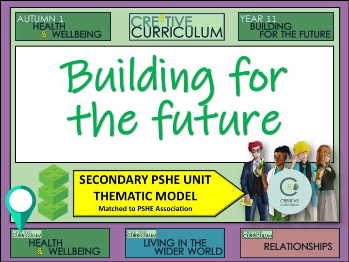 Thematic PSHE - Building for the future