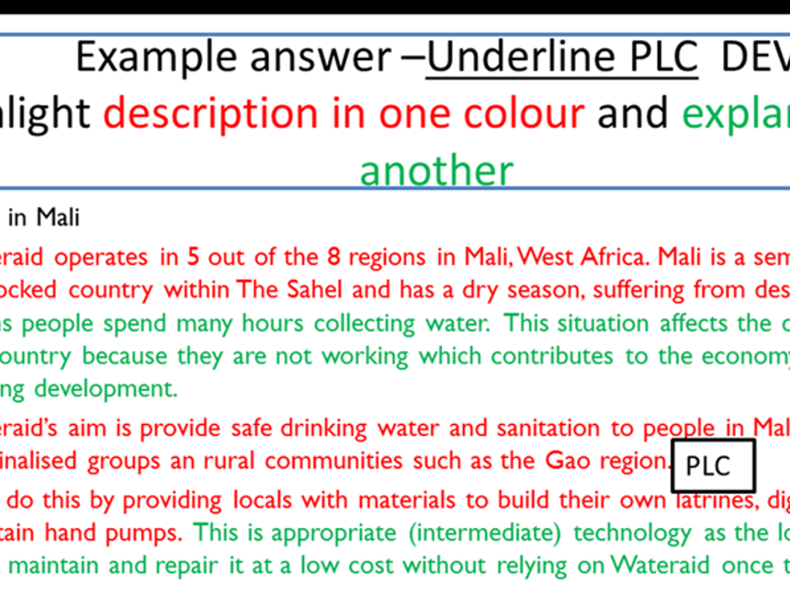 Revision PowerPoint for OCR B Geography Key Themes