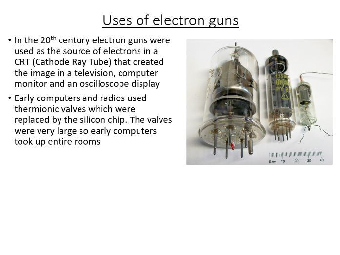 A-Level Turning Points in Physics - Thermionic Emission (PowerPoint & Lesson Plan)