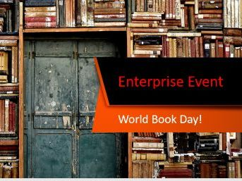 Enterprise Event - World Book Day