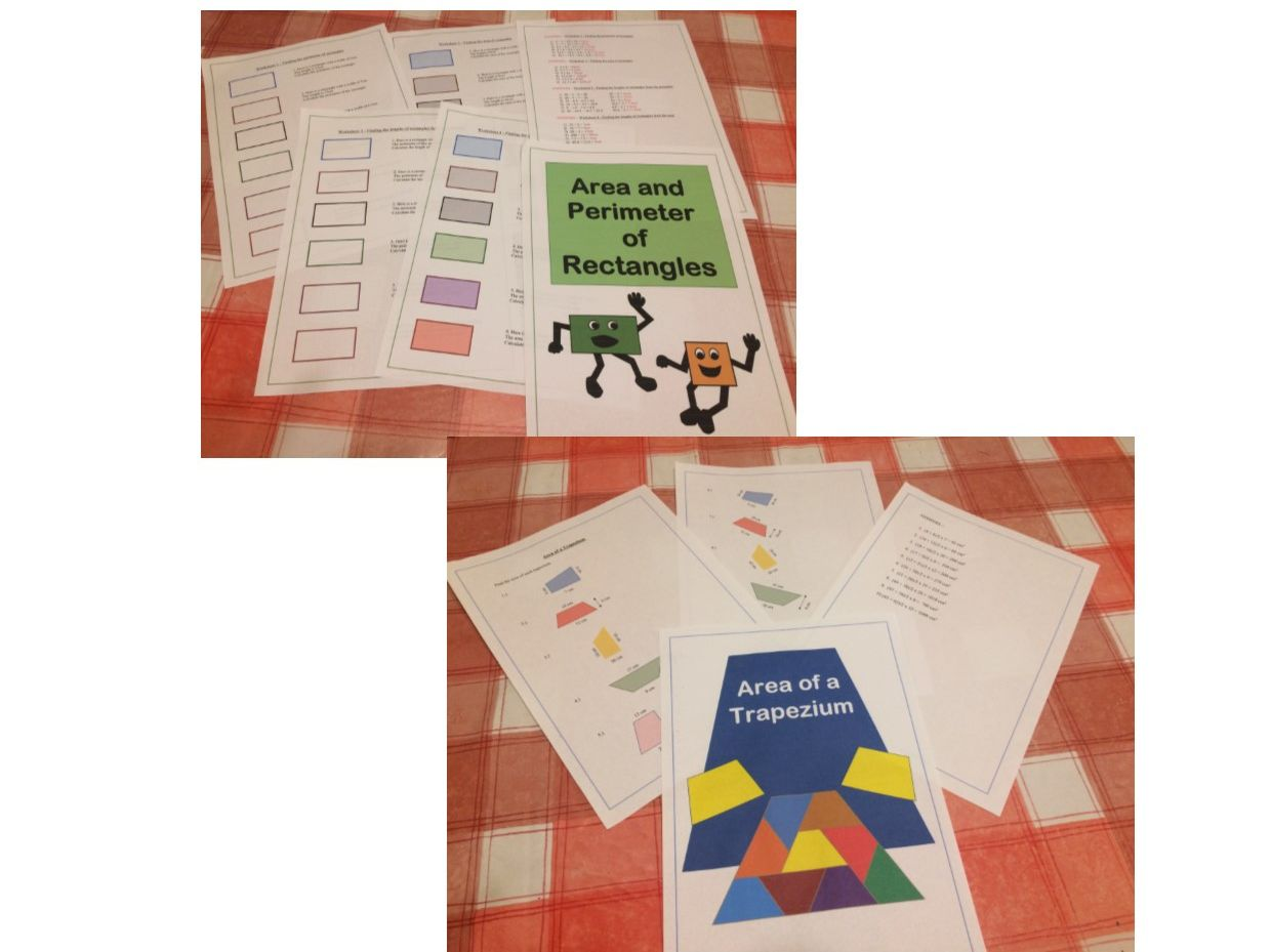 Area and Perimeter Mega-Bundle Maths GCSE Revision