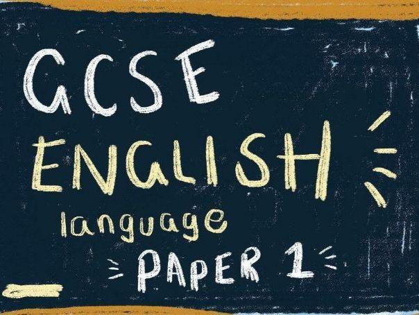 Edexcel English Language Complete Paper 1