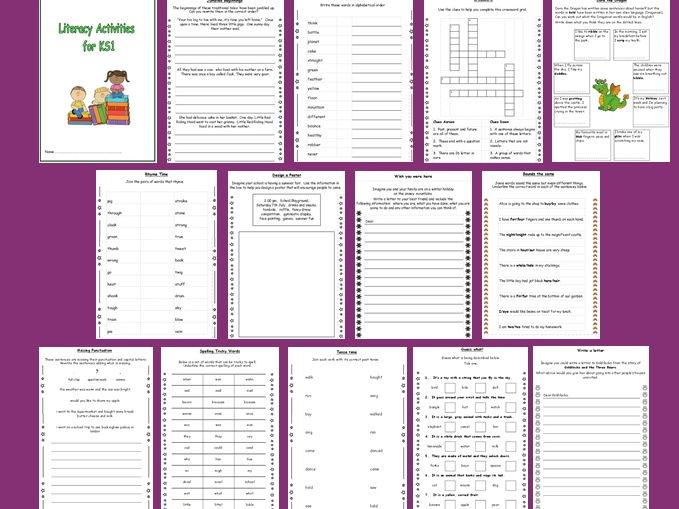 Literacy/SPAG/Reading Activity Booklet for KS1