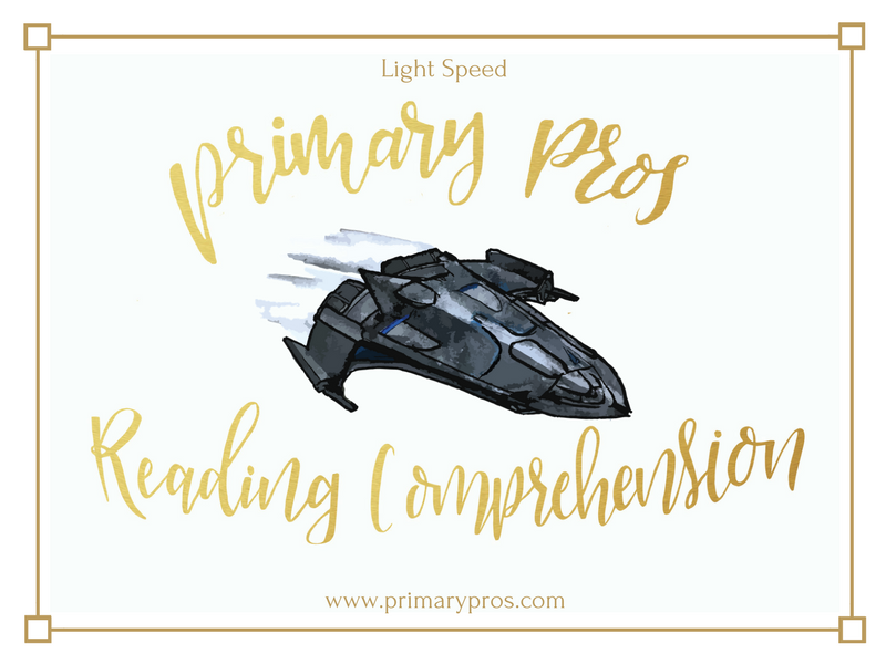 Year 3 & 4 Reading Comprehension - Light Speed