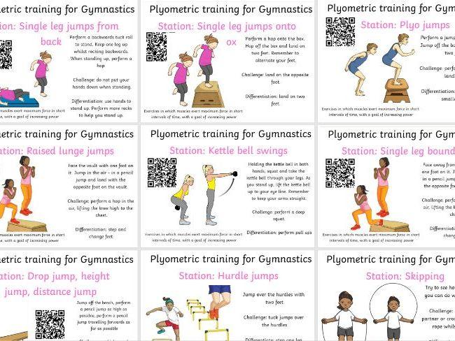 Gymnastics Plyometric Circuits
