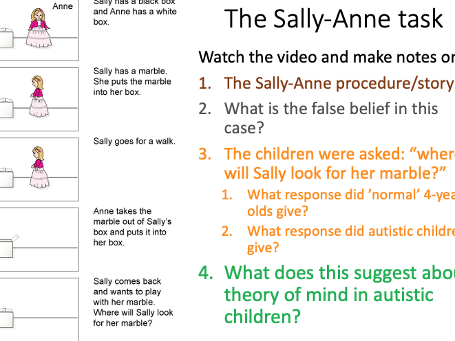 Theory of Mind: lesson 6